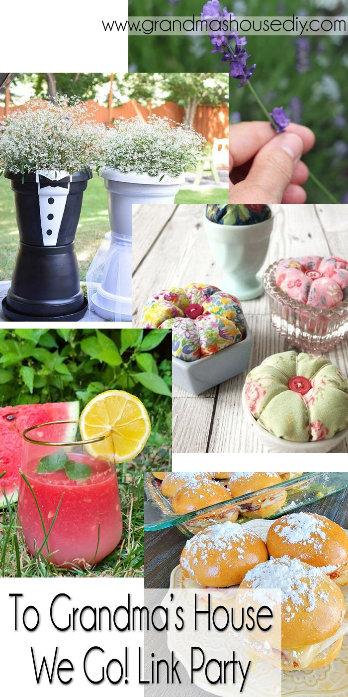 This link party is all about homemade, homemaking, DIY, recycling, upcycling, before and afters (of rooms, Wednesday Link Party #256