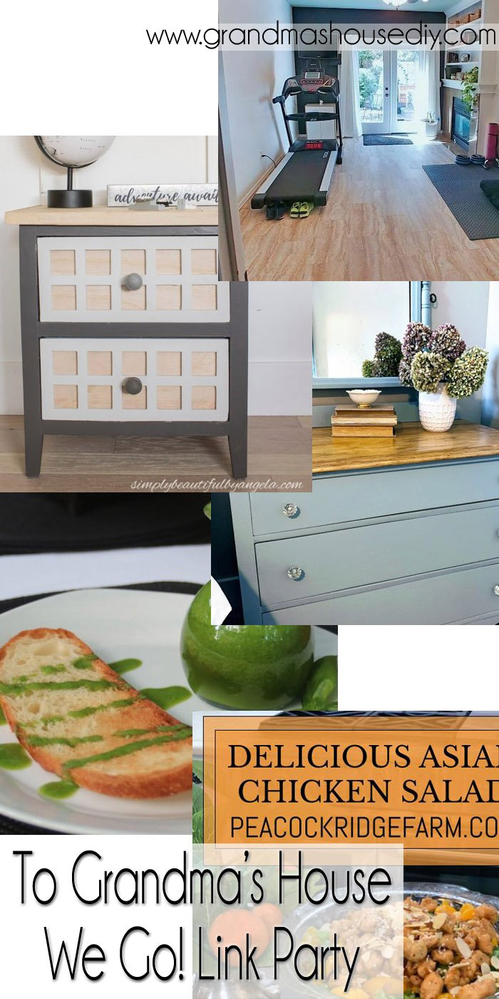 This link party is all about homemade, homemaking, DIY, recycling, upcycling, before and afters (of rooms, Wednesday Link Party #260