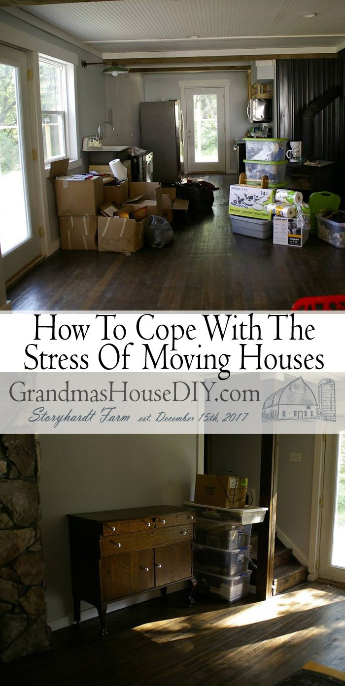 The stress of moving is something most of us have experienced in our lives and, many times, swore we would never do again lol