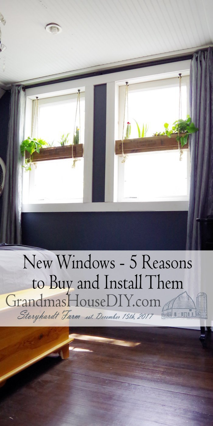 Without them, you end up with a room with poor ventilation and lighting, and you can't even see the outdoors. Buying and installing new windows is important