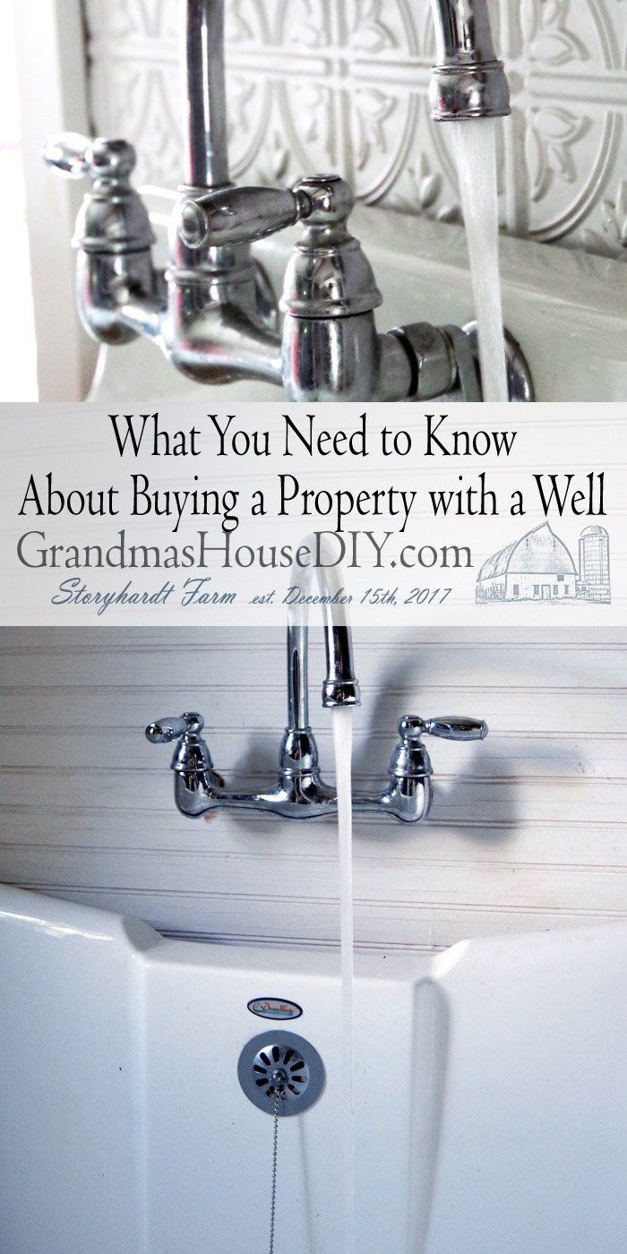These are all questions buyers consider when interested in a home that comes with a well. If you're considering this kind of property right now,