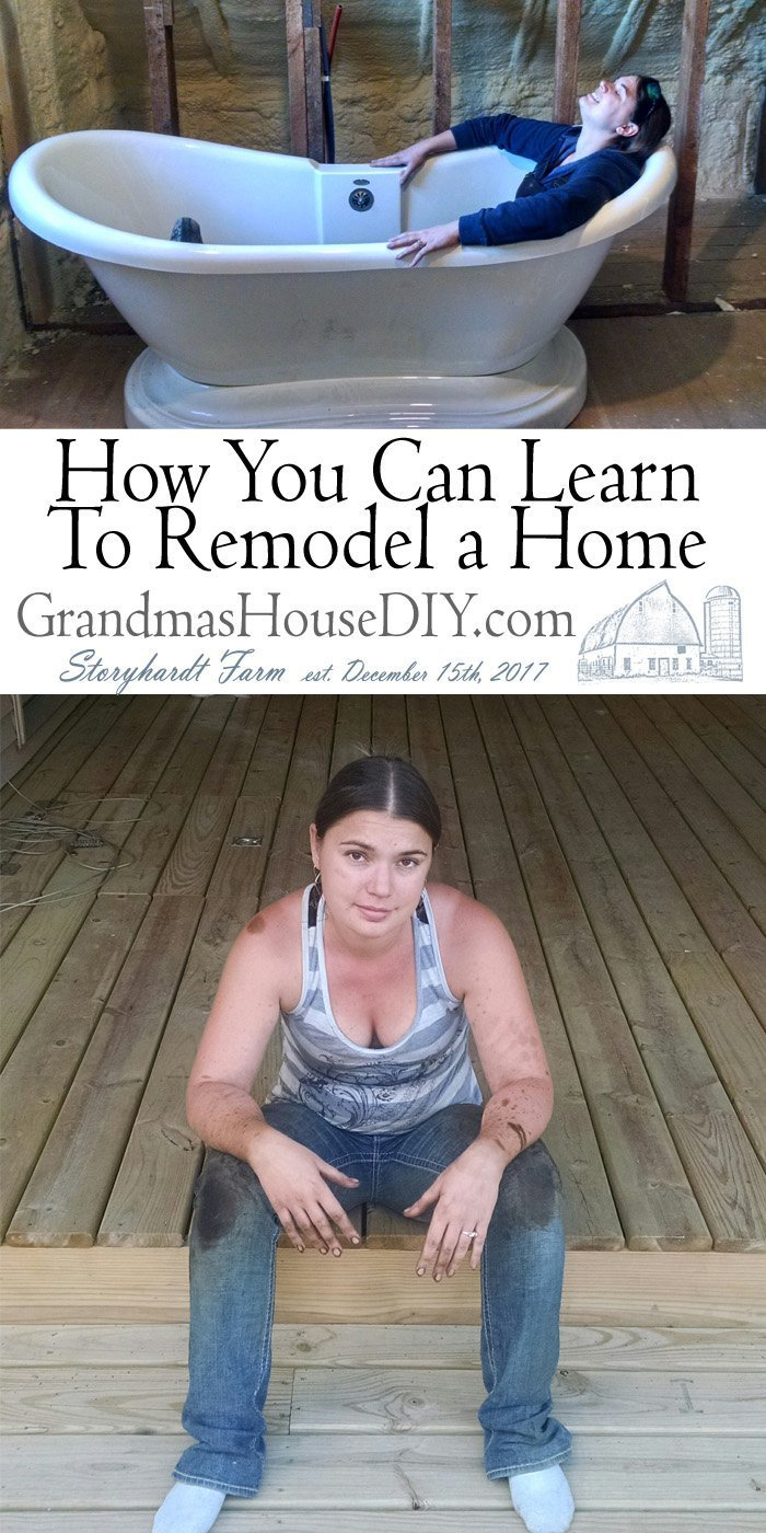 The problem is that many of the people who have this dream of rehabbing and flipping homes really don't know much about remodeling homes. How to learn to