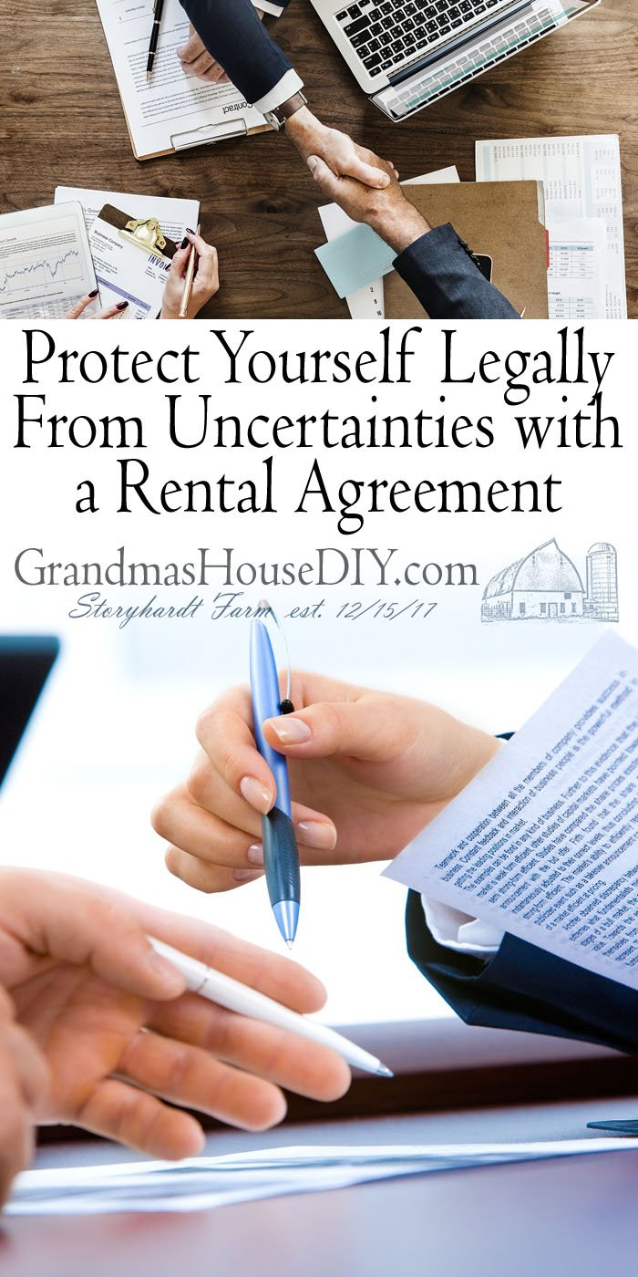 Protect Yourself Legally From Uncertainties with a Rental Agreement How to Write a Rental Agreement Property particulars are another section.