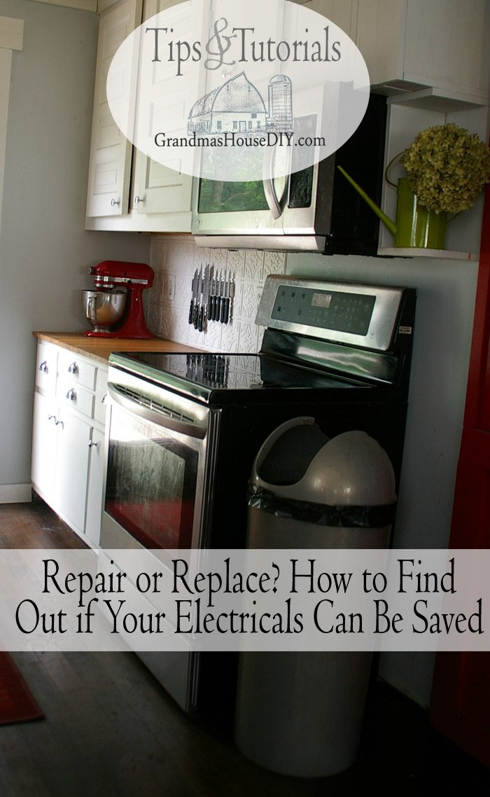 What adds to the strain is the fact that appliances can be very expensive to replace, and most of us don't have hundreds of dollars lying around in case of an emergency like this to repair or for repairs depending on the situation.