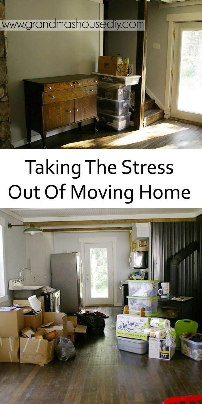 I always dove into the kitchen first because I know (we all know) that moving the kitchen is the biggest stress and practically half the