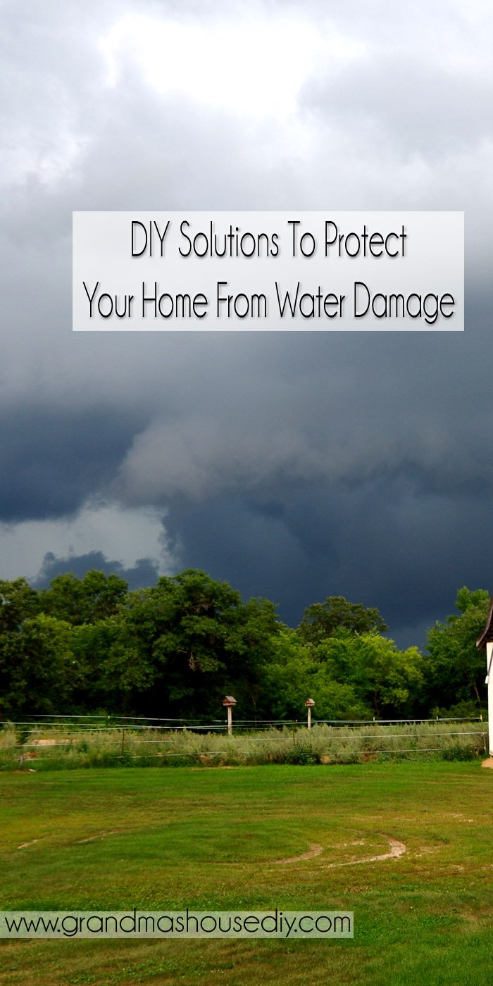 Water can be one of the fastest most damaging things to a home. Gutters are mandatory in many regions though with our deep eves we