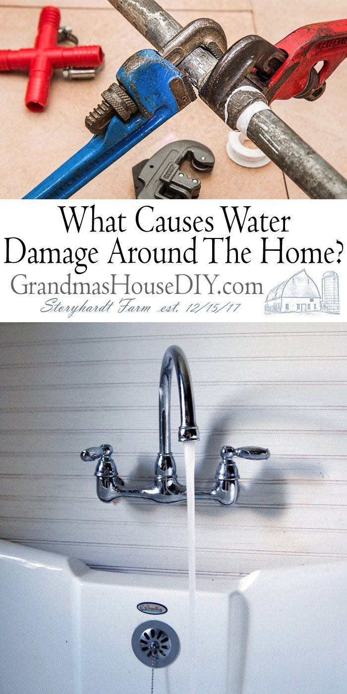 What causes water damage in the home besides burst pipes, leaky appliances or bad plumbing this articles covers every home owners worse nightmare