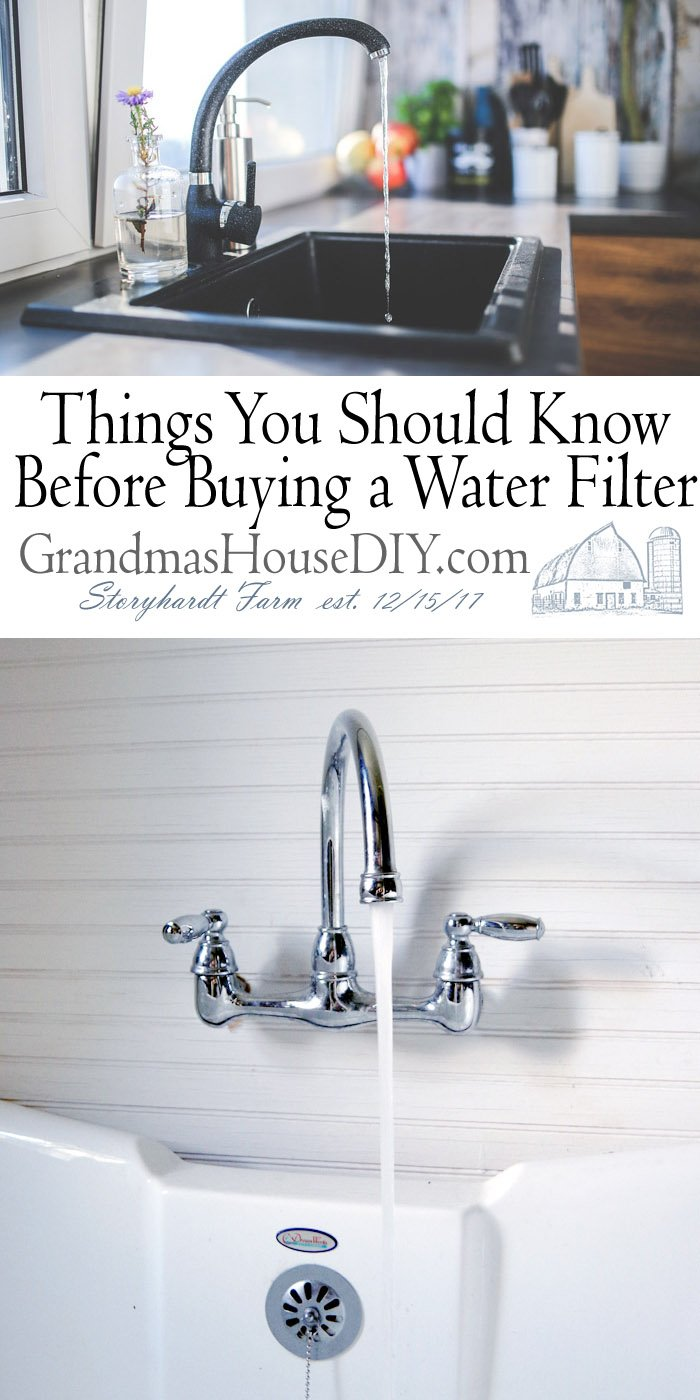 Things You Should Know Before Buying a Water Filter - is a filtering system right for you and your household whether you live in town or have well water