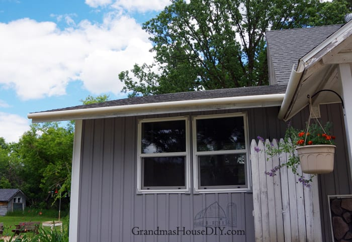 Rain Gutters Out Of 3 Quot Pvc Pipe Diy How To Grandmas