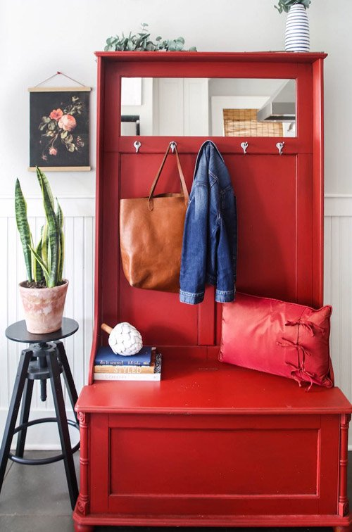 Andrea from Design Morsels - Entryway Cabinet
