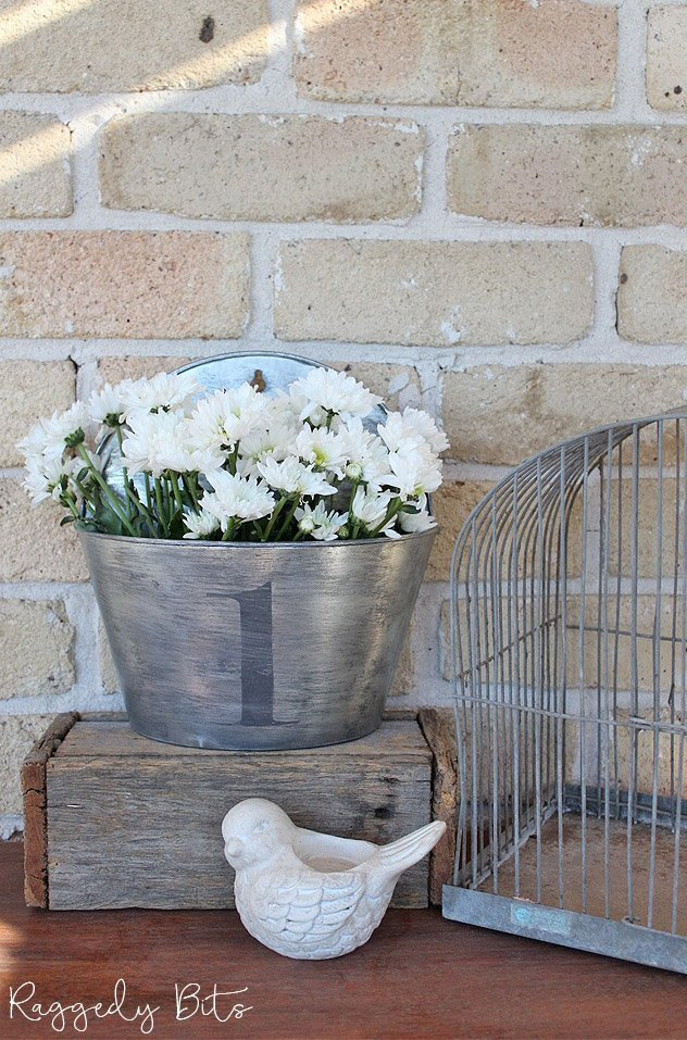 Planters with The Farmhouse Hens Decorate