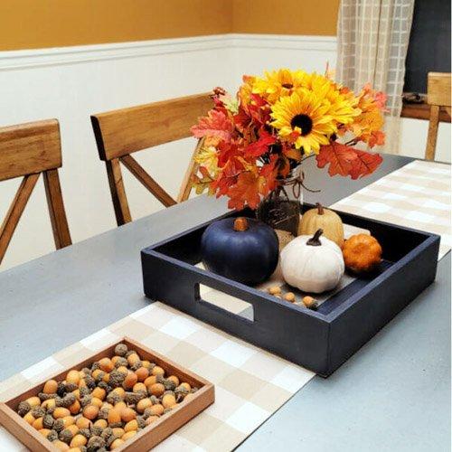 Serving Tray Makeover – Before & After