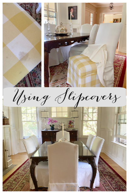Mary from Life at Bella Terra - Using Slipcovers