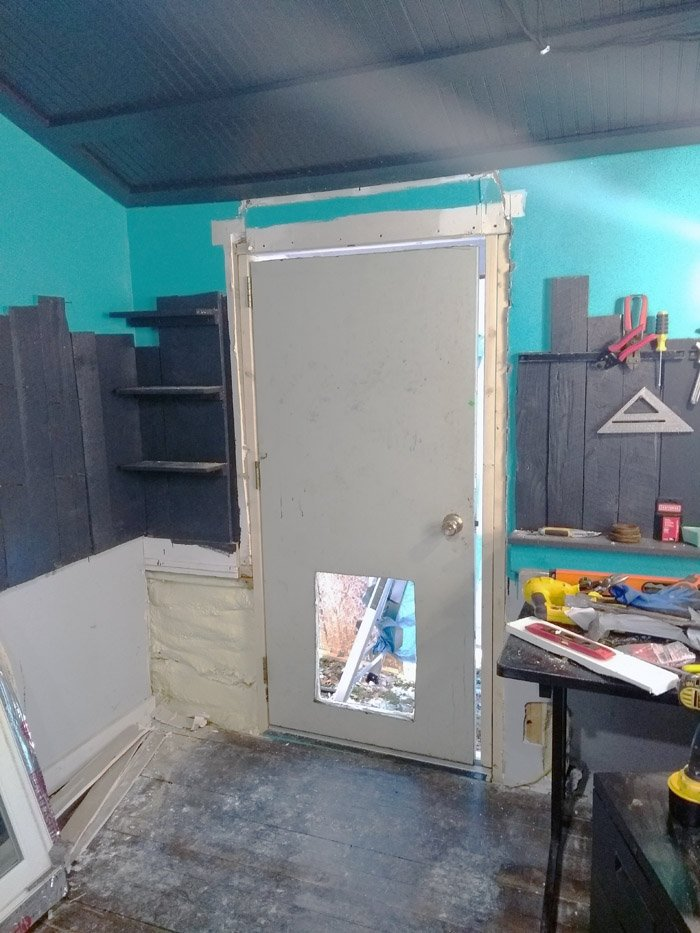 How to make your own doggie door. It was nearly a decade ago now when I finally completely lost patience with the junk doors on the market