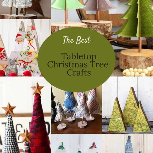 THE BEST DIY TABLETOP CHRISTMAS TREE IDEAS