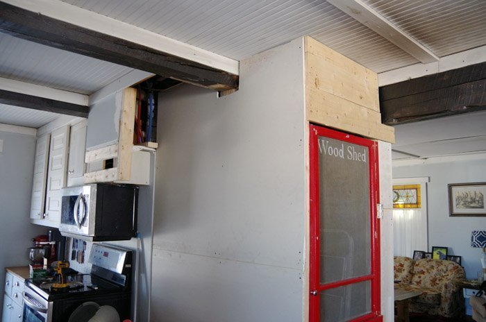 I was able to abandon my chimney and put my pellet stove beside my kitchen sink and it made it possible to add more feet of wall space to my kitchen closet