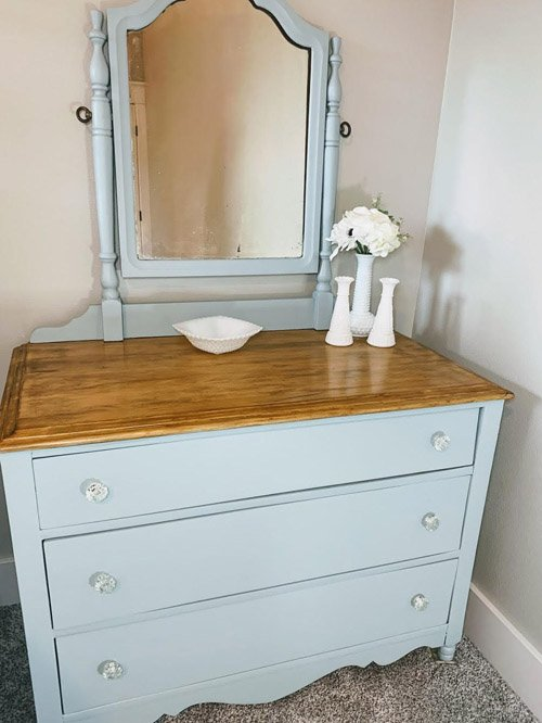 Niky from The House on Silverado - Antique Dresser Makeover