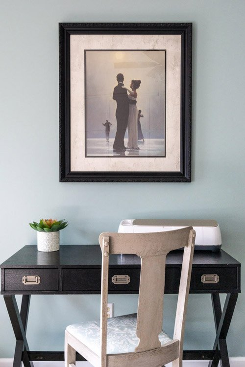 Amy from Health, Home, and Heart - How to Cheaply Update Framed Art