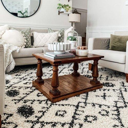 Cozy Winter Living Room